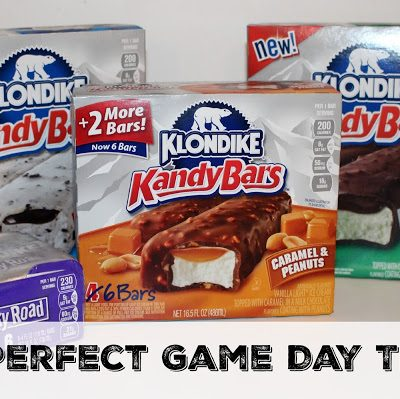 Make Your Favorite Football Fan's Day by Serving Klondike Ice Cream Bars!