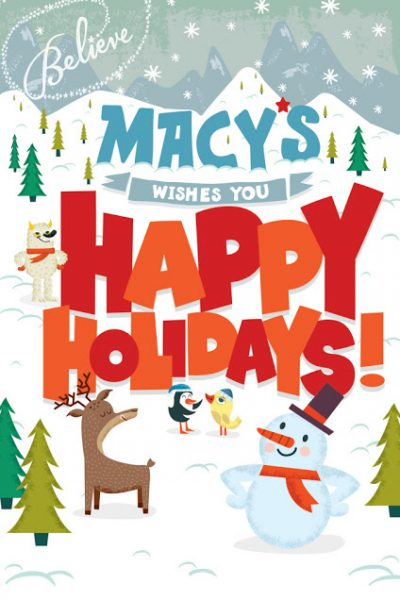 Lots of Holiday Fun at Macy's Downtown Boston! #MacysBelieve