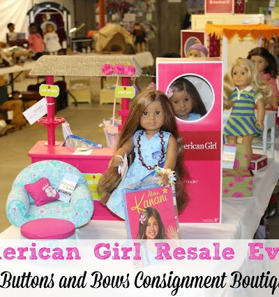 Annual American Girl Event at Buttons and Bows Consignment Boutique in Acton, Ma
