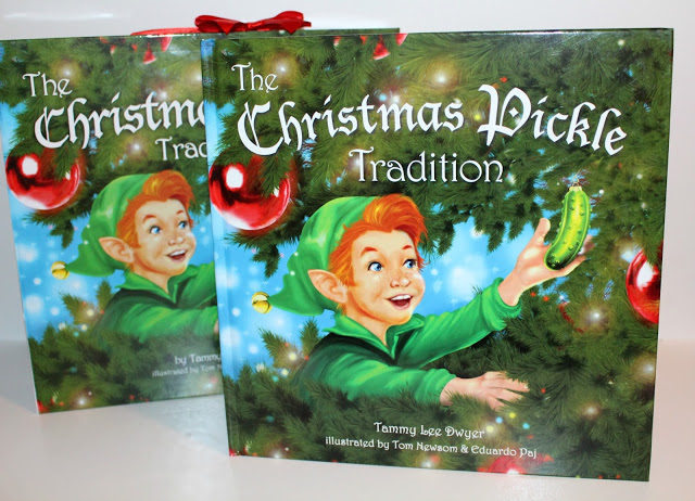 Everything You Need to Start The Christmas Pickle Tradition!