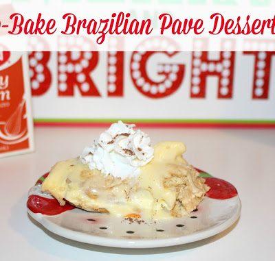 Easy No-Bake Brazilian Pave Dessert Recipe #CookWithHood