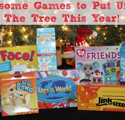 Awesome New Games to Put Under The Tree This Year!