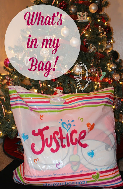 Justice Shopping Bag