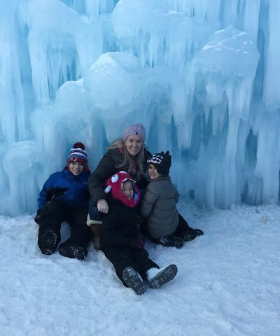 The Ice Castles in New Hampshire are a Must See in Lincoln!