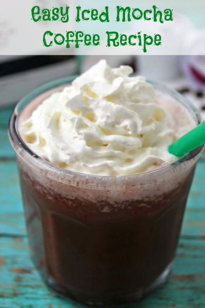 Easy Mocha Icy Coffee Drink Recipe