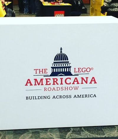 The LEGO® Americana Roadshow is at Providence Place!