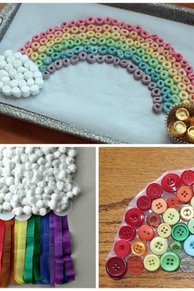 10 Fun Rainbow Crafts for Kids!