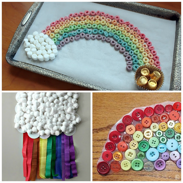 Rainbow craft ideas for kids