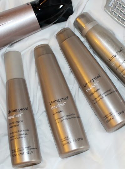Healthy Timeless Hair with Living Proof!