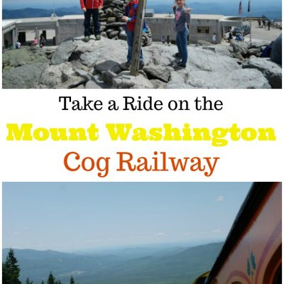 Take a Ride on the Mount Washington Cog Railway!