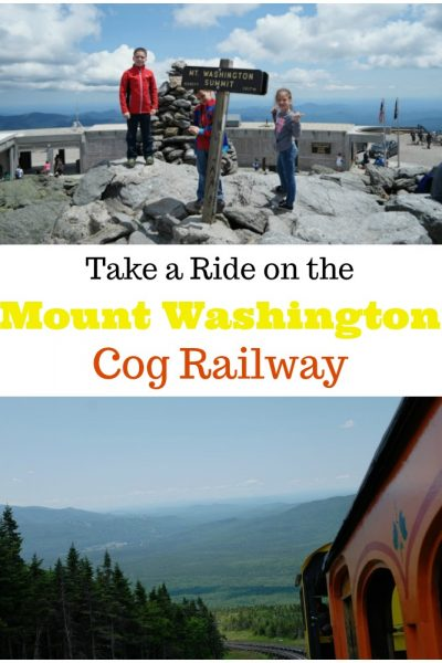 Take a Ride on the Mount Washington Cog Railway!