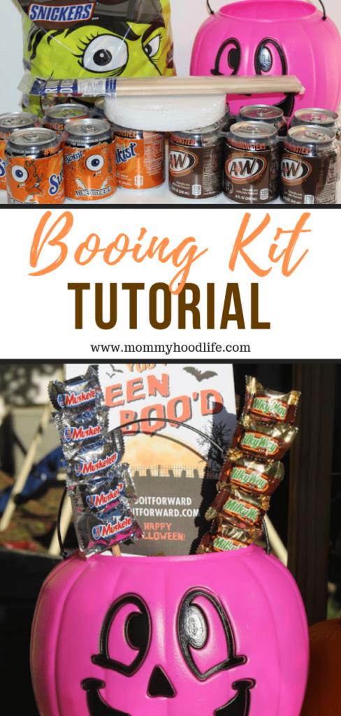 Halloween Booing Kit Tutorial