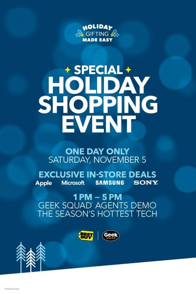 Best Buy's Holiday Shopping Event is this Saturday! #GiftingMadeEasy