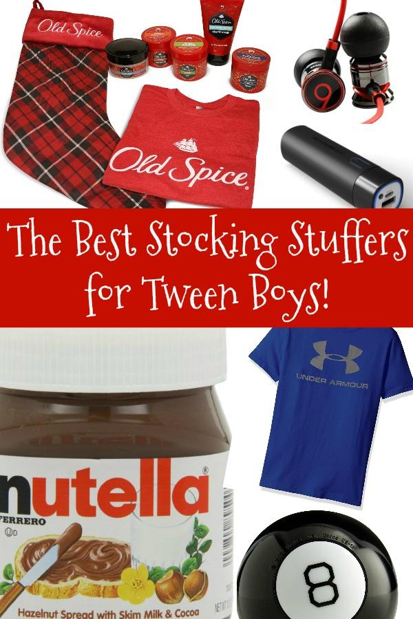 The Best Stocking Stuffers for Tween Boys!