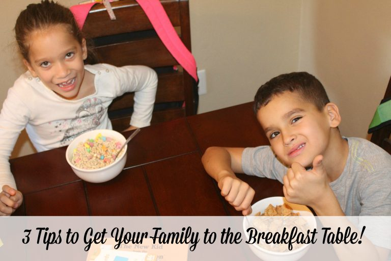 3 Tips to Get Your Family to the Breakfast Table + A Great Deal on Big G Cereal #BigGBreakfast