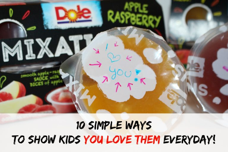 10 Simple Ways to Show Kids You Love Them Everyday! #MixInImagination