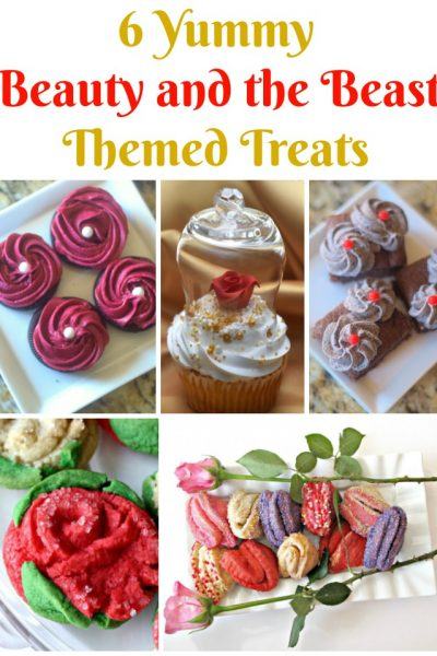 6 Yummy Beauty and the Beast Themed Sweet Treats