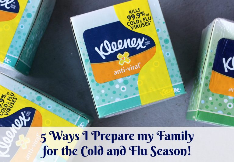 How My Family Prepares for the Cold and Flu Season!