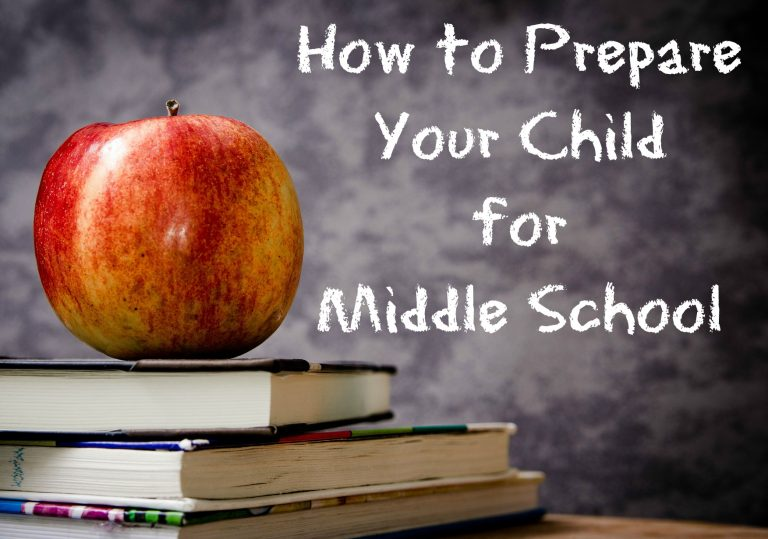 How to Prepare Your Child for Middle School before School Starts