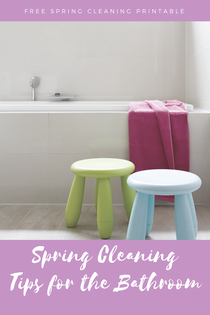 Tips for cleaning the Bathroom