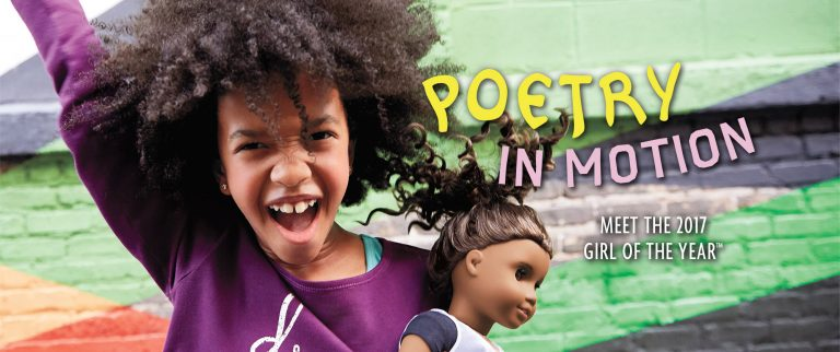 Poetry is my Power with American Girl Doll of the Year Gabriela