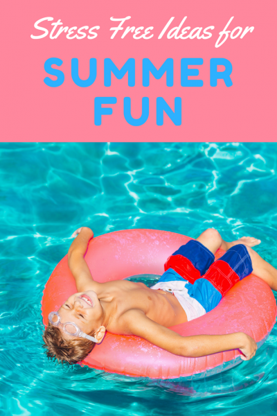 Summer fun ideas with kids