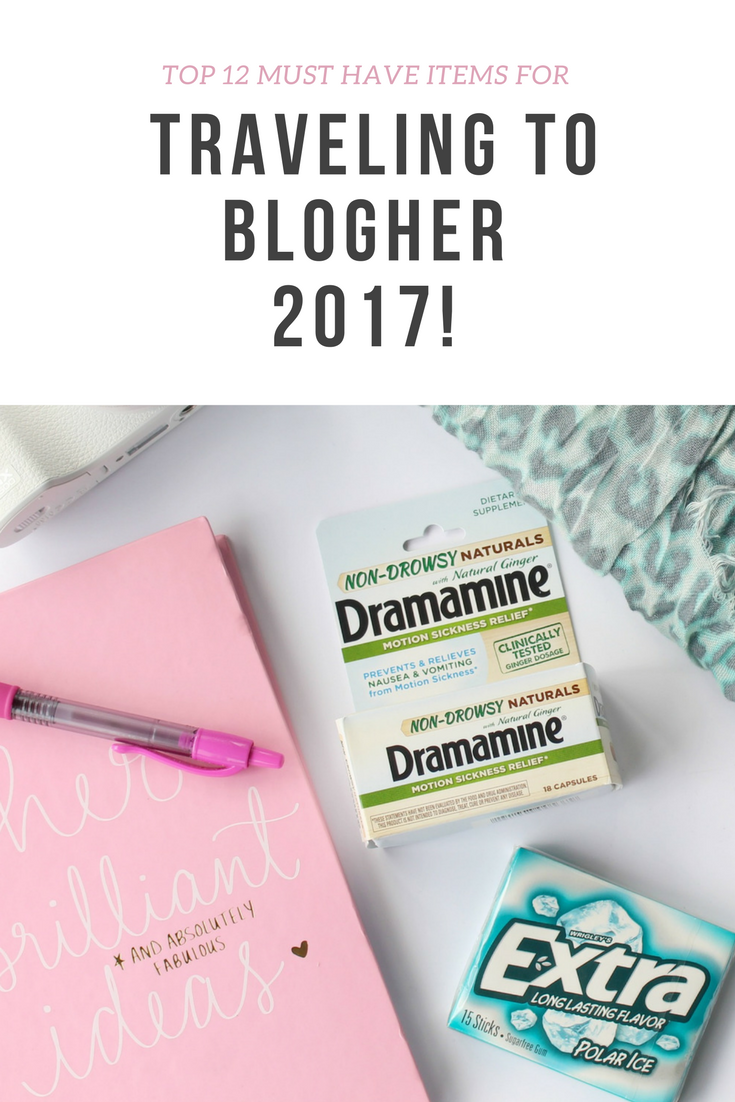Top 12 Must Have Items for Traveling to BlogHer 2017