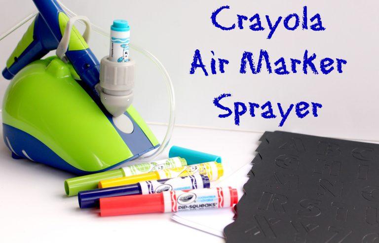 Crayola Air Marker Sprayer Review – Create Spray Art