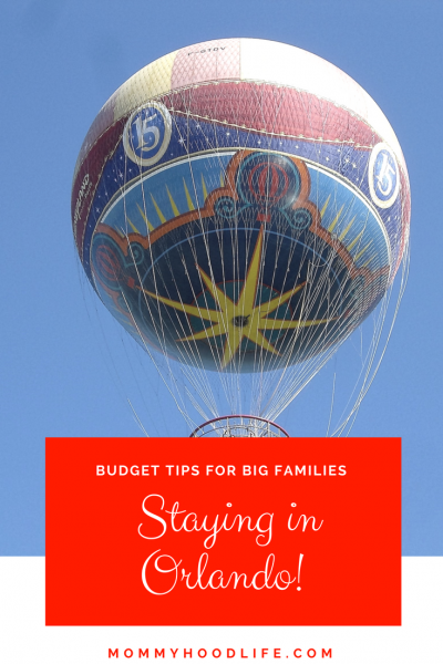 Budget Tips for Big families Staying in Orlando