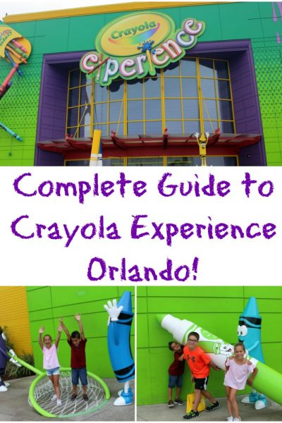 The Complete Guide to Crayola Experience Orlando!