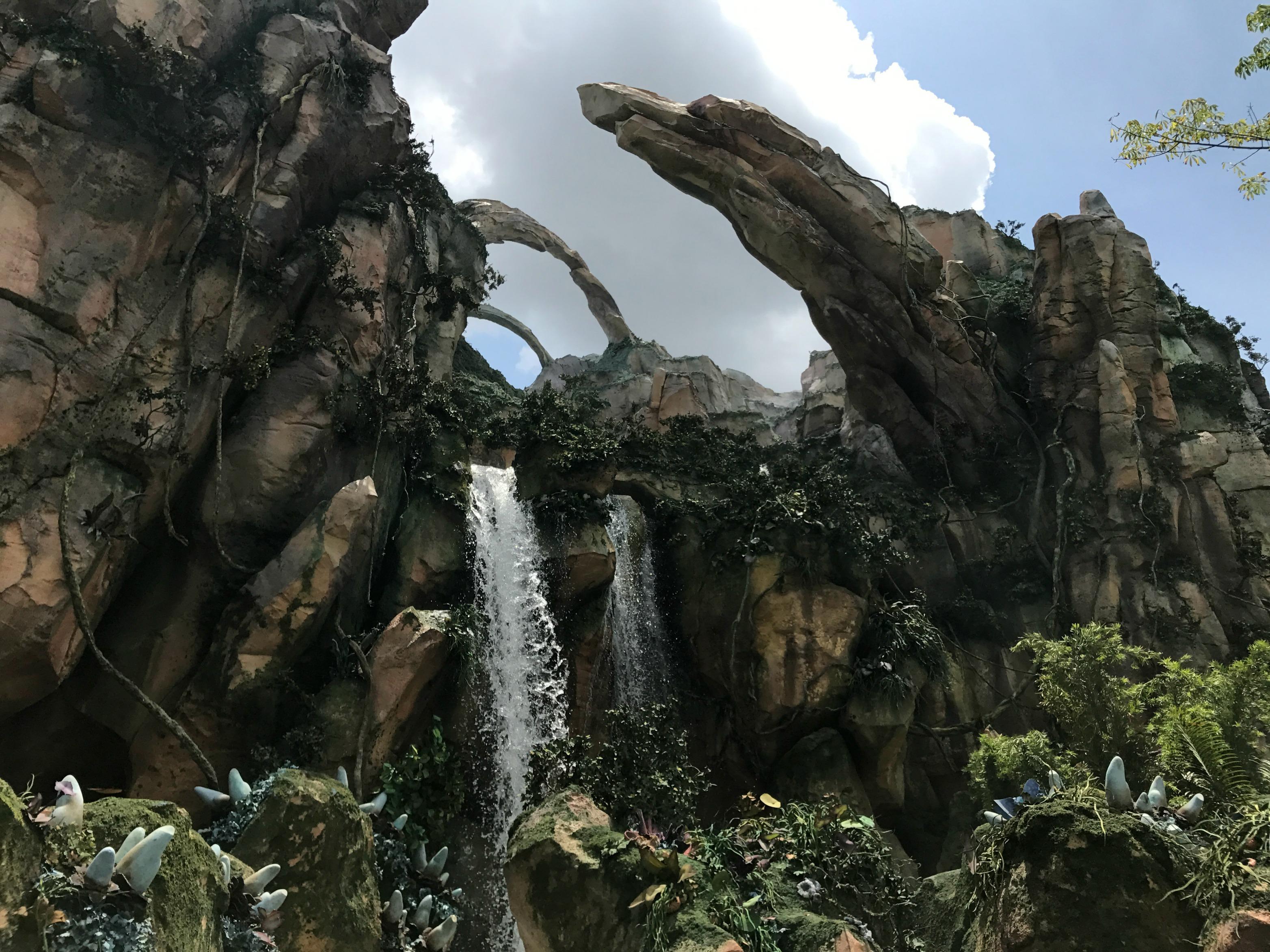 Visiting Disney's Pandora Landscape