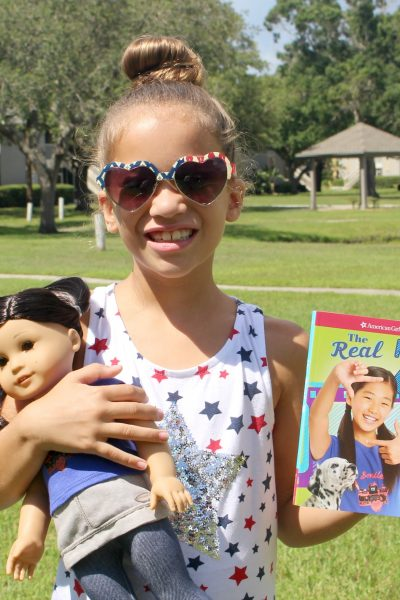 American Girl Doll Z Yang