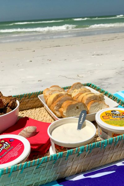 The Perfect Beach Day Snack – A Delicious Bread Tray