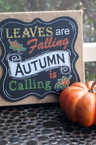 Tips for fall decorating