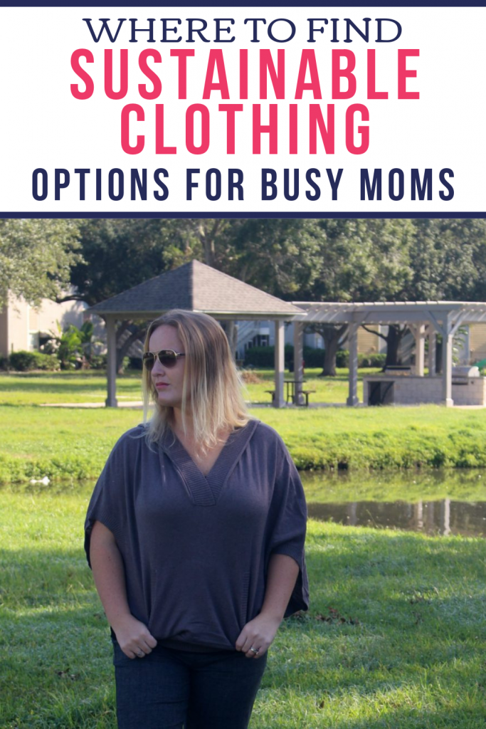 How to find Sustainable clothing for moms