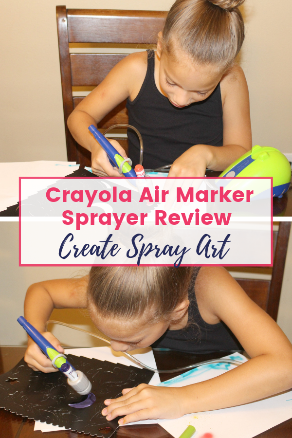Crayola Air Marker Sprayer Art Kit Review