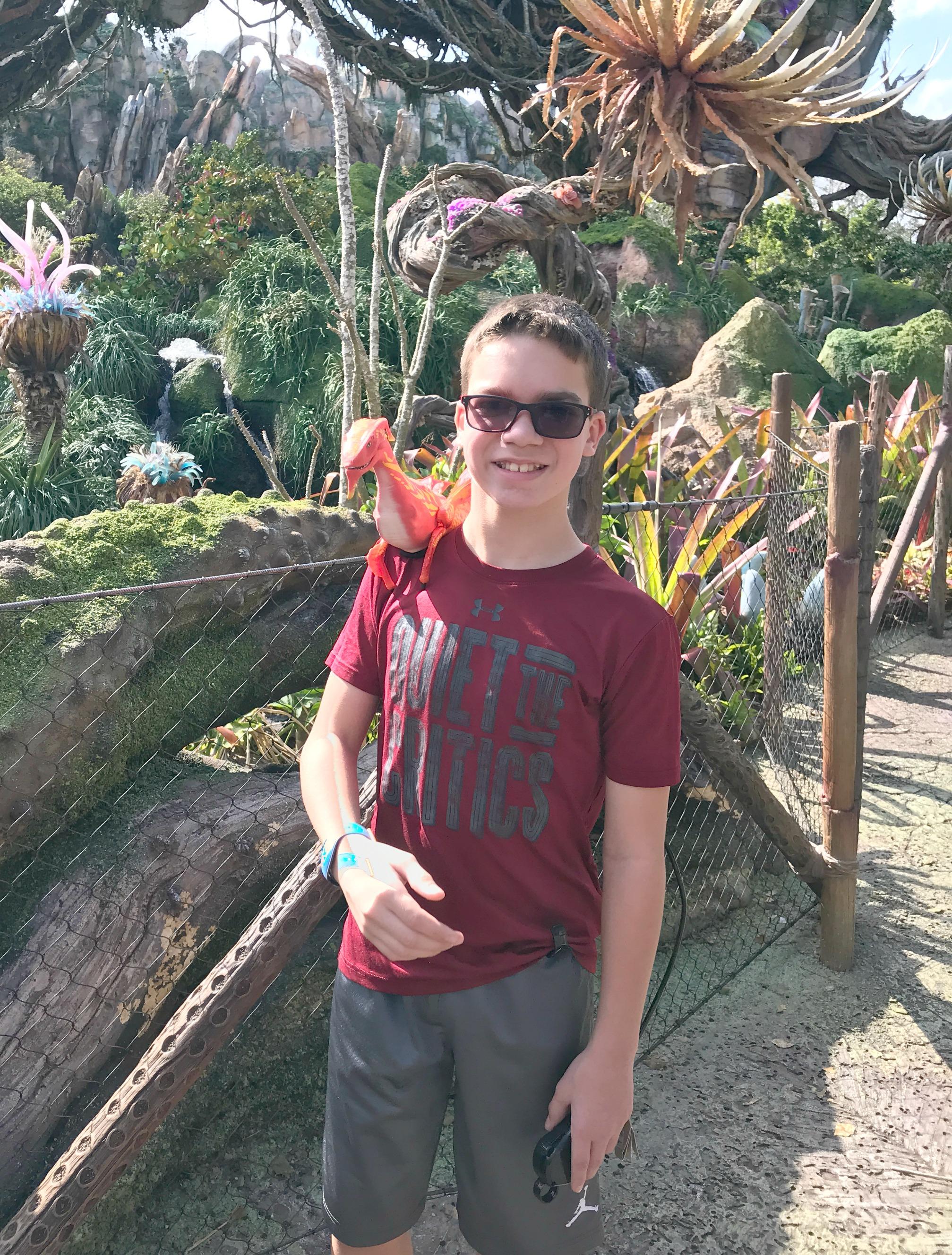 Adopt a Banshee Visiting Disney's Pandora