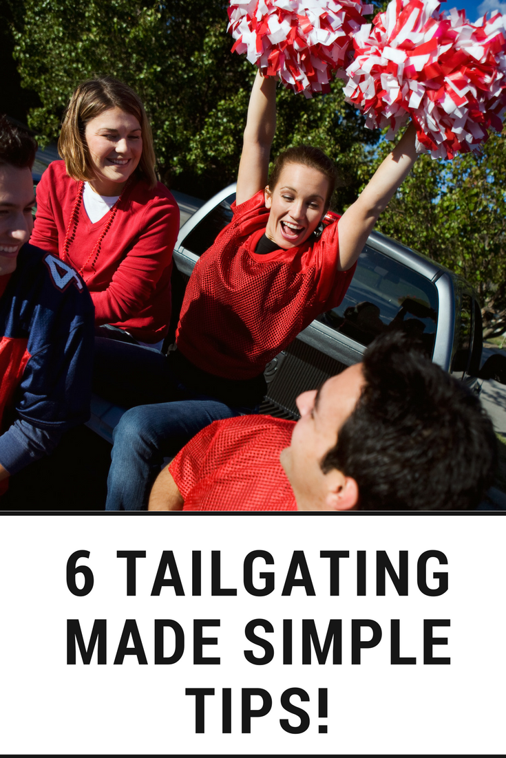 Tailgating Tips fun simple tailgate