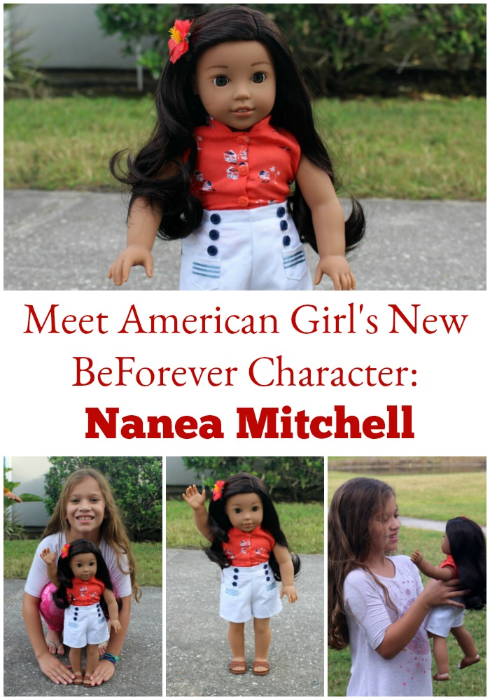 The New AMERICAN GIRL BEFOREVER DOLL NANEA Mitchell