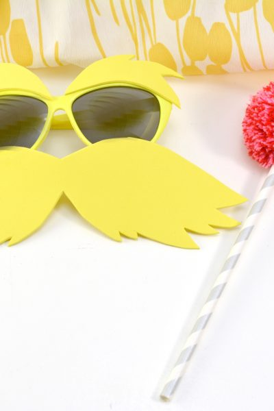 Make Your Own Quick and Easy DIY Lorax Costume
