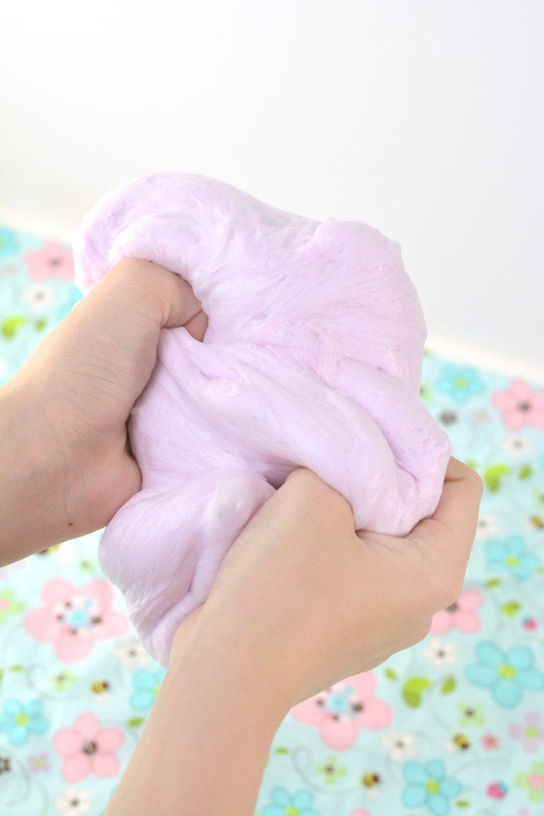 The Best Fluffy Shaving Cream Slime Recipe