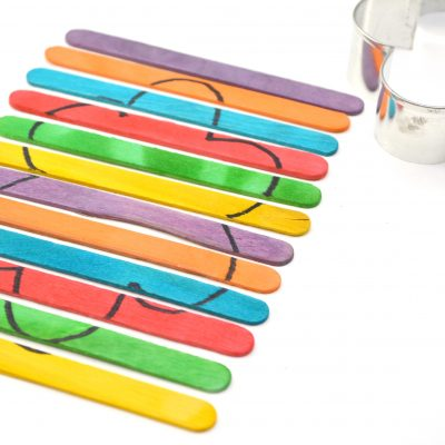Popsicle Stick Craft Puzzle