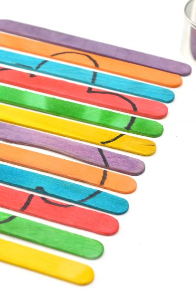 Popsicle Stick Craft Puzzle