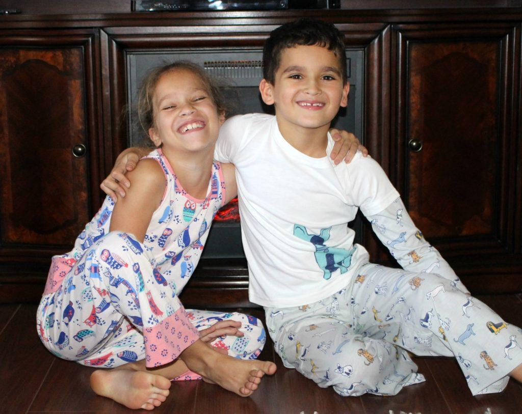 Family-Night-In-Ideas-with Garnet-Hill-Sleepwear