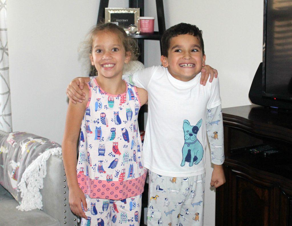 Family-Night-In-Ideas-with Garnet-Hill-Sleepwear-Childrens