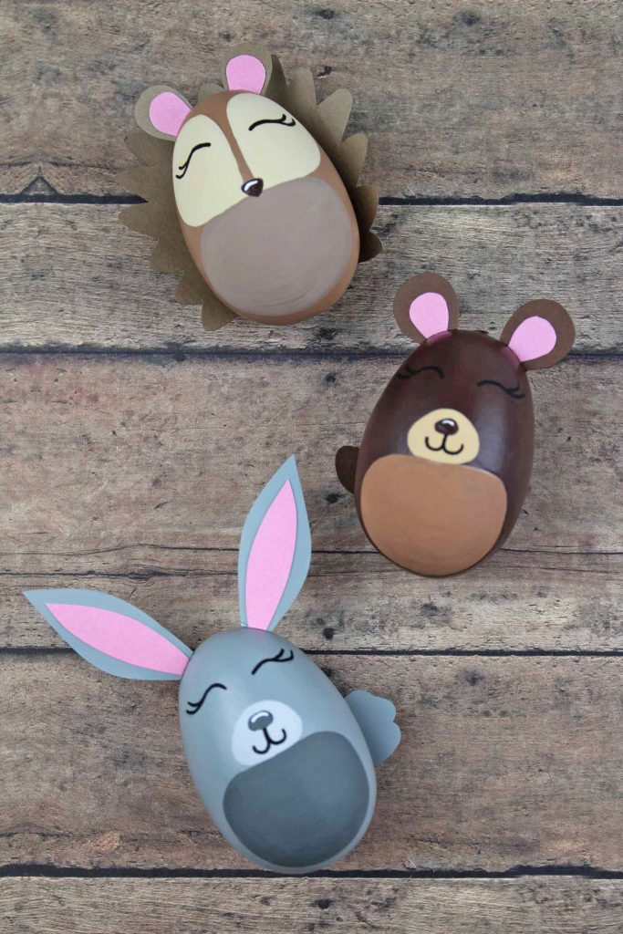 Woodland Animal Easter Eggs