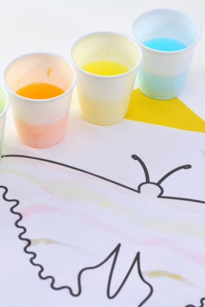 Get Ready for Spring with Jelly Bean Painting Watercolors