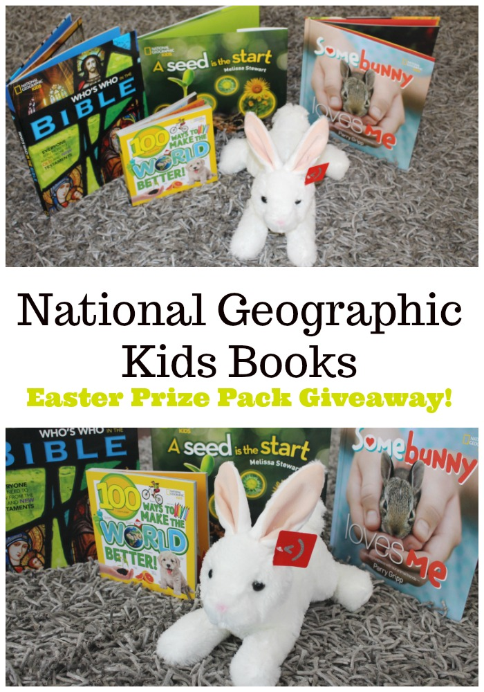 National Geographic Kids Books Easter Prize Pack Giveaway!