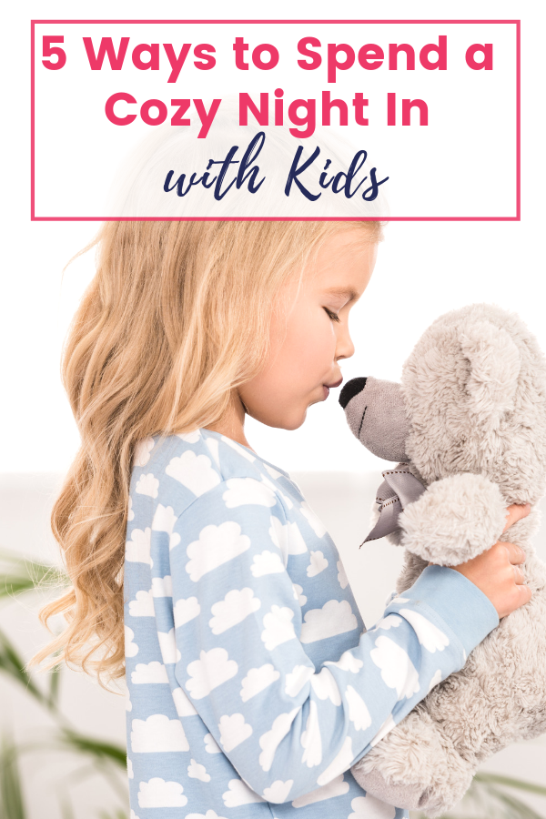 5 Ways to Spend a Cozy Night In with Kids and Garner Hill Pajamas