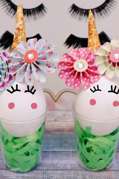How to Make Unicorn Easter Eggs